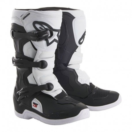 BOTAS ALPINESTARS TECH 3S KIDS NEGRO BLANCO