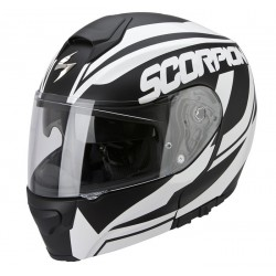 CASCO SCORPION 3000 SERENITY NEGRO MATE BLANCO