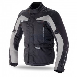 CHAQUETA SEVENTY DEGREES FT41 NEGRO GRIS
