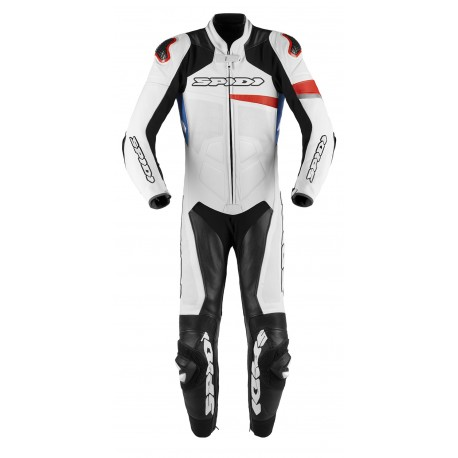 MONO SPIDI RACE WARRIOR PERFORADO 1 PIEZA BLANCO NEGRO AZUL ROJO