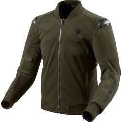 CHAQUETA REVIT TRACTION VERDE NEGRO