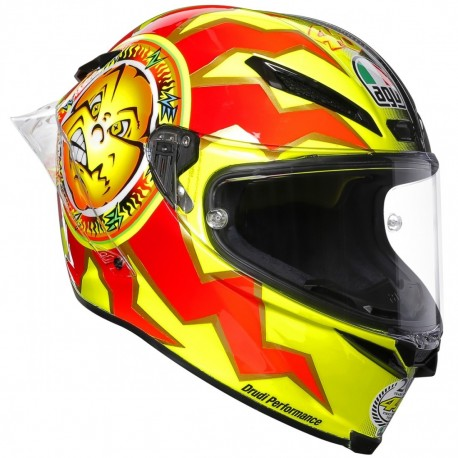 CASCO AGV PISTA GP R ROSSI 20 YEARS CARBON