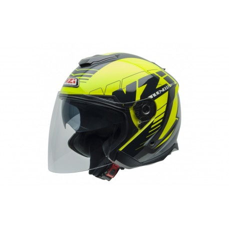 CASCO NZI AVENEW 2 DUO GRAPHICS PROVA AMARILLO BLANCO