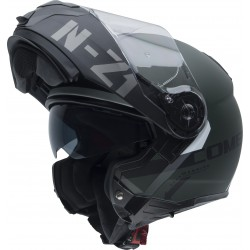 CASCO NZI COMBI DUO GRAPHICS FLYDECK VERDE