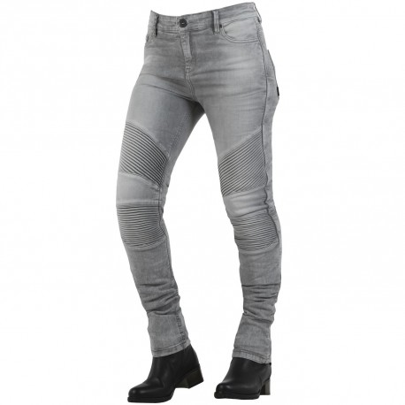 JEANS OVERLAP STRADALE SNOW LADY CINZA