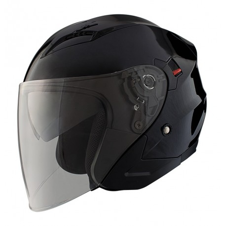 CASCO SHIRO SH-450 TOUR NEGRO MATE