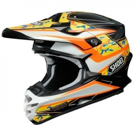 CASCO SHOEI VFX-W TURMOIL TC8