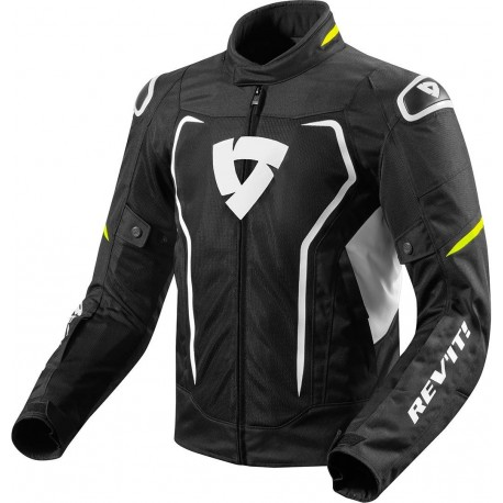 CHAQUETA REVIT VERTEX AIR NEGRO AMARILLO FLUOR