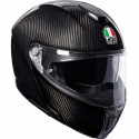 CASCO AGV SPORTMODULAR CARBON BRILLO